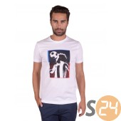 LecoqSportif graphic sp football n°4 tee ss m optical Rövid ujjú t shirt 1421718
