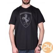 Puma ferrari big shield tee Rövid ujjú t shirt 570681-0001