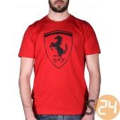 Puma ferrari big shield tee Rövid ujjú t shirt 570681-0002