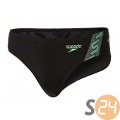 Speedo Úszónadrág Monogram 7cm brf am black/green 8-087419690
