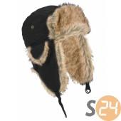 Starling szőrmés téli sapka, fekete sc-19062