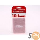 Wilson double wristbands Csuklószorító WRZ123500-PINK