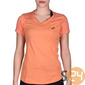 Asics fuzex v-neck ss top Running t shirt 129975-0558