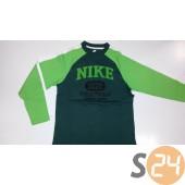 Nike Hosszú ujjú Graphic ls tee black forest/mean green/white/white 332731-310