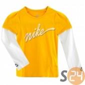 Nike Hosszú ujjú Hosszú ujjú póló (lányka) 341178-710