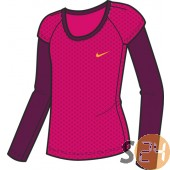 Nike Hosszú ujjú Athletic ls tee - lány 381605-601