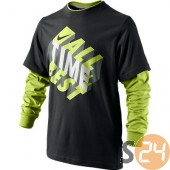 Nike Hosszú ujjú All time best 2 in 1 tee yth 481762-010