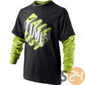 Nike Hosszú ujjú All time best 2 in 1 tee yth 481762-010
