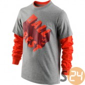 Nike Hosszú ujjú All time best 2 in 1 tee yth 481762-063