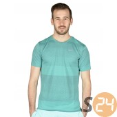 Nike nike df cool tailwind stripe s Running t shirt 646795-0405