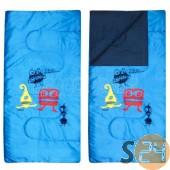Abbey print gyerek hálózsák, kék sc-21428