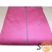 Enzo Zip pulóver Bella lila női zippes pulóver BELLA