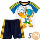 Adidas Póló - Short szett I j mascot set F49647