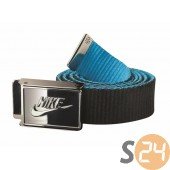 Nike eq Övek Nike sportswear belt black/blue hero N.IA.28.044.OS