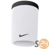 Nike eq Csuklópánt Nike premier doublewide wristbands white/black N.NN.01.101.OS