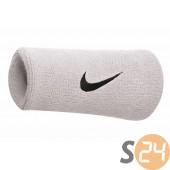 Nike eq Csuklópánt Nike swoosh doublewide wristbands white/black N.NN.05.101.OS