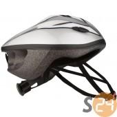 Nijdam kerékpáros sisak, ezüst sc-17790