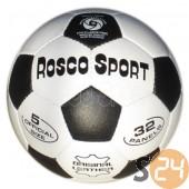 Rosco bőr focilabda, fekete-fehér sc-9950