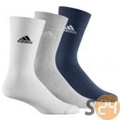 Adidas Zokni, Sportzokni Crew plain t 3p Z25575
